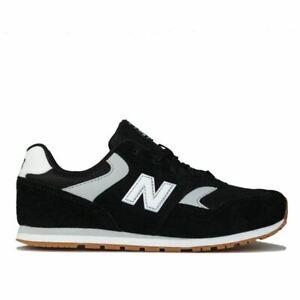 Boy's New Balance Junior 393 Trainers in Black