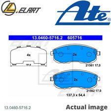 Brake Pad Set,disc brake for SUZUKI,NISSAN,RENAULT SX4 Saloon ATE 13.0460-5716.2