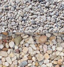 25 kg Zierkies Gartenkies Teichkies Quarzkies Waschkies Kieselsteine 8-32 mm