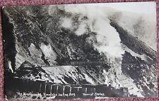 Early 1900's Breakwinds Rimutaka Incline New Zealand Photographic Postcard NZ