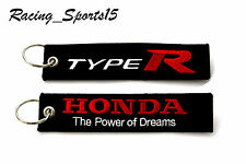 JDM TYPE R DOUBLE SIDE Racing Cell Holders Keychain Universal HONDA TYPE R CIVIC