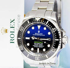 Rolex Cameron Deepsea Sea-Dweller Steel Ceramic Watch Box/Papers 116660