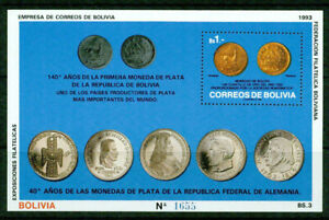 BOLIVIA     - 1993  –COINAGE  – VF  **