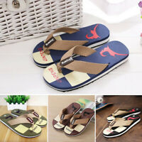 Women/Men's Summer Slippers Beach Flip Flops Casual Sandals Flat Shoes Home 7-10
