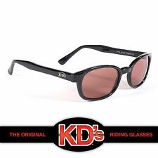 KD's Black Frame Rose Lens Original Sunglasses Mens Womens ASO Sons of Anarchy
