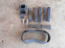 KAWASAKI ZX9R ZX 900 C1 NINJA 1998 98 - UNDER SEAT TRAY STRAPS AND RELAY DAMPERS