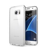 Dünn Slim Cover Samsung Galaxy S7 Edge Handy Hülle Silikon Case Schutz Tasche
