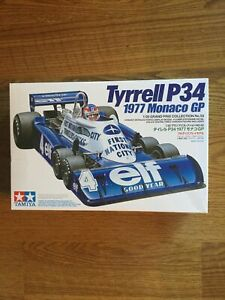 Tyrell P34 1977 Monaco GpTamiya 1/20 GP Series No.53 6Wheels car model kit