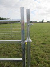 BATEMAN SHEEP HURDLES 4 X 8FT LONG HOT DIPPED WITH PINS clearance damaged