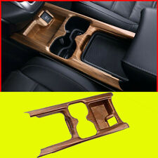 For Honda CRV CR-V 2017-2020 Peach Wood Grain water cup holder frame cover 1pcs