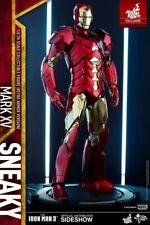 SALE! Hot Toys Retro Sneaky Iron Man 3 1/6 Scale Figure Mark XV Mk 15 Avengers