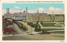 Factory and Office Building of Hershey Chocolate Corp. in Hershey PA Postcard