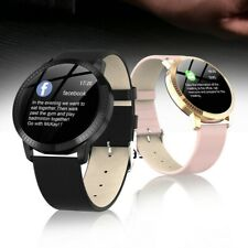 Smart Watch Fitness Tracker Heart Rate Blood Pressure Tempered Mirror Waterproof