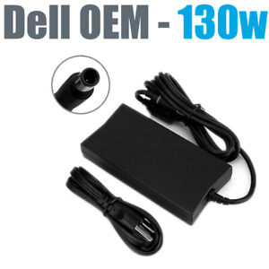 Genuine Dell 19.5V 6.7A 130W AC DC Adapter D6000 WD15 Docking Station w/Cord OEM