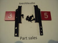 Kenwood KR 9600 AM/FM Dial Scale Plate Mounting Hardware. Parting Out KR 9600.