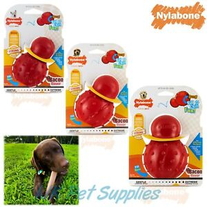 Nylabone Strong Rubber Cone Treat Dispenser Boredom Buster Dog Chew Toy