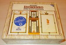 MOZART-IDOMENEO-3xCD 1991-GARDINER/VON OTTER-FULL SILVER RINGS-UNPLAYED-MINT