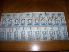 Lot of 20 pcs Bank Notes from Venezuela 500 Bolivares Uncirculated