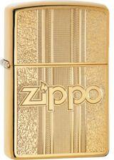 ZIPPO - BENZIN - FEUERZEUG - BRASS - MESSING - POLIERT - GRAVIERT - 60004310