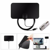 1pc Indoor Signal Amplifier Booster TV Antenna HDTV Receiver DVB-T DVB-T2 Arial