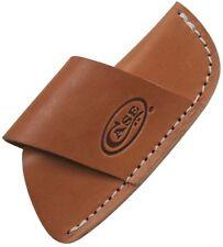 Case pocket knife Large Side Draw Leather Belt Sheath