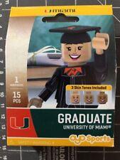 Oyo Sports Minifigure University of Miami Hurricanes Graduate Alumni Lego Female