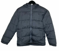 Old Navy Frost Free Puffer Jacket Sz Medium (8) Boys Warm Black