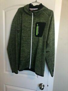 Ortovox Men's Merino Fleece Hoodie Jacket XL in Matcha Green Blend