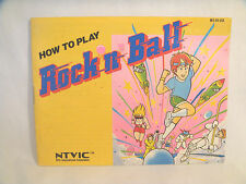 Rock N Ball - NES Manual Only!