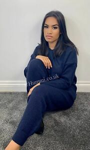 Hooded woolly co-ord