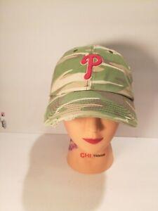 Forty Seven '47 Brand Philadelphia Phillies Camo Women's Distressed Baseball Hat