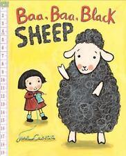 Baa, Baa, Black Sheep by Jane Cabrera (2016, Board Book)