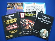 The Syd Lawrence Orchestra ... Scrapbook, Brochures, Badges, Signed items