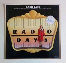 Radio Days - O.S.T. - Vinyl LP Europe 1987