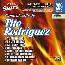 Karaoke Latin Stars 209 Tito Rodriguez Vol.1