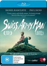 Swiss Army Man (Blu-ray, 2016) Daniel Radcliffe, Paul Dano