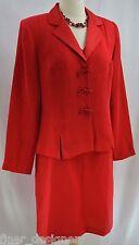 Coldwater Creek 2 pc sheath dress suit Dressy blazer jacket light coat 10 NEW