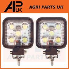 2 X 15W LED Trabajo Luz Lámpara 12V luz de inundación 24V Camión Jeep Tractor ATV Coche Barco