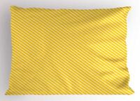 Vintage Yellow Pillow Sham Decorative Pillowcase 3 Sizes for Bedroom Decor