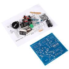 DIY Kit PCB Board 9V-12V AT89C2051 6 LED Digital Electronic Clock Set Components