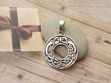 Anhänger 925 Silber Amulett Kelten Knoten NEU