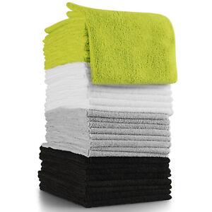 Microfiber Cloth Cleaning 32pk Set Towel Duster Wipe Rag for Car Truck Van SUV