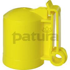 PATURA Kappenisolator für Metallpfahl T-Post T-Pfosten 10 St.