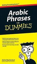 Arabic Phrases For Dummies by Amine Bouchentouf (Paperback, 2009)