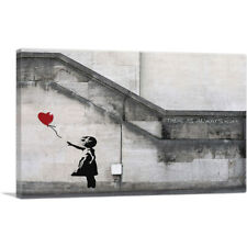 ARTCANVAS There Is Always Hope Balloon Girl Canvas Art Print by Banksy
