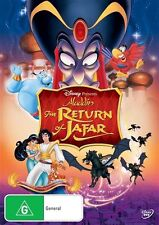 Aladdin : The Return Of Jafar (DVD, 2013) region 4 (Walt Disney Classic)