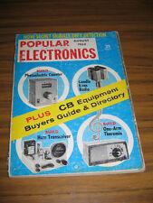 Popular Electronics Magazine August 1962 Build Photoelectric Counter