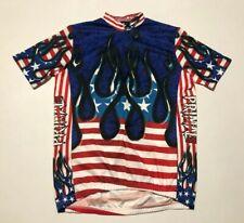 Primal wear mens usa flag jersey L