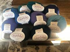 Knit Picks Palette 100% wool yarn lot of 10 231 yds each)