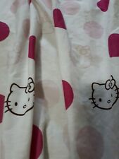 Hello Kitty Pink Polk A Dot Curtains 2 panels